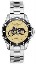 Geschenk für BMW R25/3 Motorrad Fahrer Fans Kiesenberg Uhr 20465