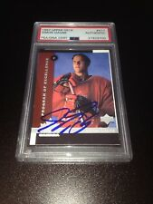 Simon Gagne Signed 1997-98 Upper Deck Rookie Card Flyers PSA Slabbed #827929700