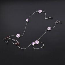 Sunglasses Beaded Eyeglass Chain Rope Glasses Glasses Chain Cord Strap Holder