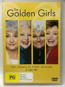 The Golden Girls - Complete First Season - 4 DVD Set - AusPost with Tracking