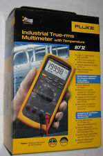 FLUKE 87-V 87V INDUSTRIAL AUTOMOTIVE TRUERMS DIGITAL MULTIMETER TEMPERATURE NEW