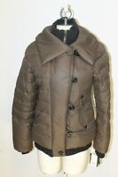 NWT STEVE MADDEN WOMEN GORGEOUS GREEN PUFFER COAT JACKET SIZE S M L MSRP $225