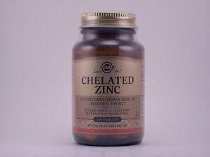 Solgar Chelated Zinc 100 Tablets