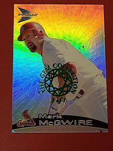 Rare 1/1 1999 Mark Mcgwire Refractor Gem Collection Prism Cardinals W/COA