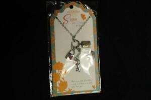 Jilzarah Sister Inspiration Charm Necklace Best Friend For Life 901-002