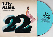 CD CARTONNE CARDSLEEVE LILY ALLEN TWENTY TWO (22) 2t DE 2009 TBE