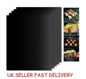 BBQ Grill Mat Non Stick Oven Liners Teflon Cooking Baking Reusable Sheet Summer