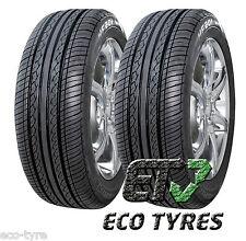 2X Tyres 155 65 R14 75T HIFLY HF201 M+S F C 71dB