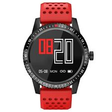 Smartwatch Originale Noziroh Fitness Sport GPS IP67 Bluetooth Android iOS Rosso