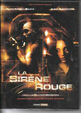 COFFRET 2 DVD + 1 CD BOF COLLECTOR--LA SIRENE ROUGE--BARR/ARGENTO/MEGATON