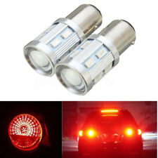 2X 9W 5630 12 LED S25 1157 BAY15D Car Brake Stop Light Tail Lamp RED Color Bulb