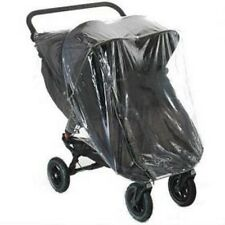 RAIN COVER TO FIT BABY JOGGER CITY MINI GT DOUBLE RAIN COVER WITH ZIP  UK MFD