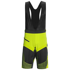 Pearl Izumi Men's Veer Short w Bib liner Cycling MTB Lime Black  Medium