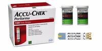 100 Accu-Chek Performa test strip for performa Nano,Combo,Connect Expert acuchek