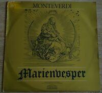 Monteverdi Marienvesper Harnoncourt Jürgens Parnass Telefunken Stereo 75589-P 13