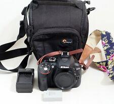 Nikon D D5300 24.2MP Digital SLR Camera Black Body ONLY 17K SHUTTER COUNT