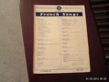 Bizet: Toreador Song, Carmen, med vocal (Century) Vintage, fragile
