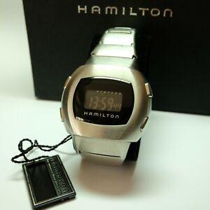 Hamilton MIB Man In Black limited series LCD watch, box and manual