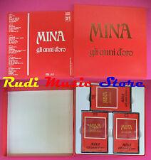 BOX 3 MC MINA Gli anni d'oro prima stampa italy DISCHI RICORDI NO cd lp dvd vhs