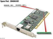 284848-001 - HP - NC7770 SINGLE PORT GIGABIT SERVER ADAPTER RJ45 (284848-001)