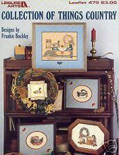 THINGS COUNTRY ~ Cross Stitch Booklet ~ Frankie Buckley
