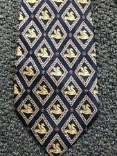 Vintage Christian Dior Pegasus Print Necktie Tie