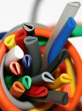 Kantenschutz - Kederband - U-Profil  5,0 x 3,5mm für Bleche bis 2mm in 21 Farben