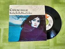 "VINILO SINGLE "" CAPERCAILLIE "" WAITTING FOR THE WHEEL TO TURN"