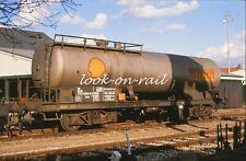 N1208 - Dia slide 35mm original Eisenbahn Holland, NS SHELL Kesselwagen, '80s