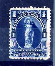 BOLIVIA - 1870/1880 - Francobolli fiscali. Un centavo. E2360