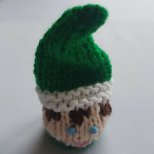 Christmas Elf Knitting Pattern, chocolate cover, ferrero rocher, Table Favour