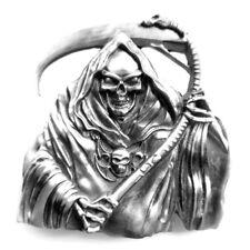 Buckle As Scythe Man, Grim Reaper, BELT BUCKLE