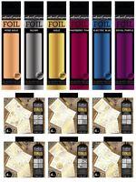 *OFFER* Crafter's Companion Foils + Clear Transfer Metallic Embellishment RANGE!