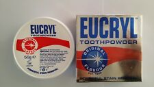 EUCRYL Toothpowder Original Flavour Powerful Stain Removal 50g