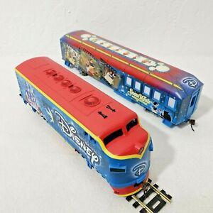 Bachmann Disney Movie Magic Express Locomotive + Snow White Movie Magic Car LN