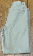 Nautica School Uniform Khaki Pants Boys Size 12 Regular
