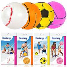 4 x Bestway Strandball ca.41cm Wasserball Beachball aufblasbar Wasserspielzeug