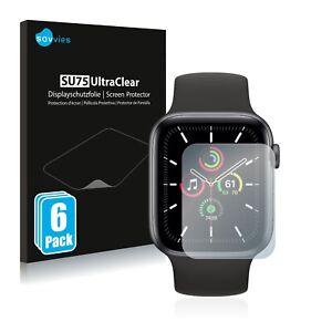 Film Protecteur d'écran pour Apple Watch SE (40 mm) Protection Clair 6x