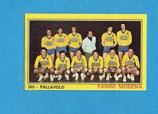 CAMPIONI dello SPORT 1970-71-Figurina n.263- PANINI SQUADRA -PALLAVOLO-NEW