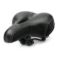 Bicycle Cycling Big Bum Saddle Seat Road MTB Bike Wide Soft Pad Comfort Cushi SR