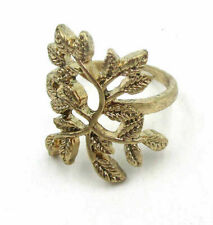 Metal Size 7 Ring Jd8980 Free Shipping Fashion Jewelry Delicate Leaf