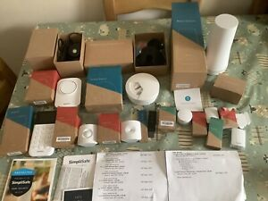 simplisafe Home Security bundle . Please See Photos Spares