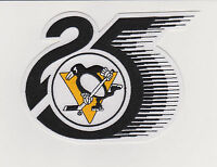 NHL PITTSBURGH PENGUINS 25TH ANNIVERSARY PATCH 1991/92 SEASON