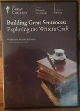 Building Great Sentences : Exploring the Writer's Craft (2008, DVD)