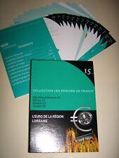 Rare Coffret Collector 10 EURO des régions 2010~LORRAINE~10 EURO en ARGENT~TOP