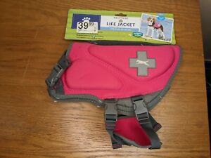 NEW Top Paw Neoprene Dog Life Jacket Vest Pink Size Small 15-30 lbs Free Ship