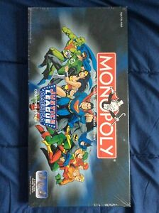 MONOPOLY Justice League of America Collector's Edition *FACTORY SEALED*
