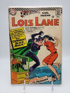 Superman's Girl Friend Lois Lane #70 1966  DC Comic First Catwoman Appearance