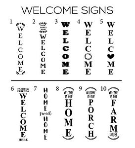 Welcome Sign - FREE SHIPPING