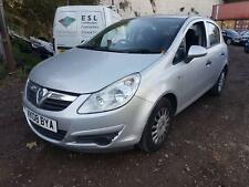 2008 Vauxhall Corsa 1.2i 16v  Life STARTS+DRIVES MOT SPARES OR REPAIRS